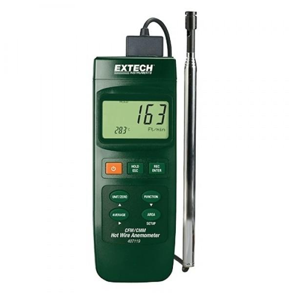 Extech 407119 เครื่องวัดความเร็วลม
