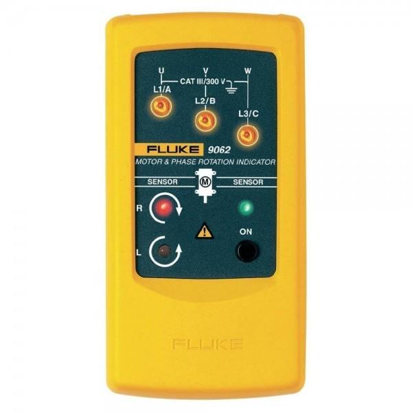 Fluke 9062 เครื่องตรวจวัดลำดับเฟส และทิศทางหมุนของมอเตอร์แบบไม่สัมผัส