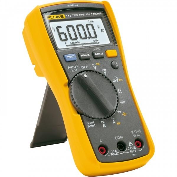 Fluke 117 ดิจิตอลมัลติมิเตอร์ สำหรับช่างเทคนิคงานบริการด้านไฟฟ้า