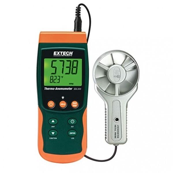 Extech SDL300 เครื่องวัดความเร็วลม แบบใบพัดโลหะ