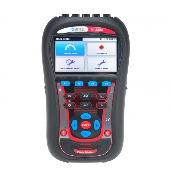 Metrel MI 2892 Power Master Three Phase Power Quality Analyser