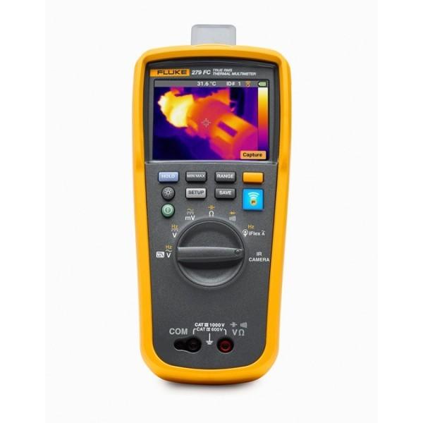 Fluke 279 FC ดิจิตอลมัลติมิเตอร์ที่ถ่ายภาพความร้อนได้