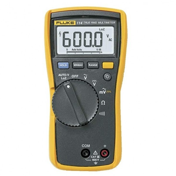 Fluke 114 ดิจิตอลมัลติมิเตอร์ สำหรับงานไฟฟ้าพื้นฐาน
