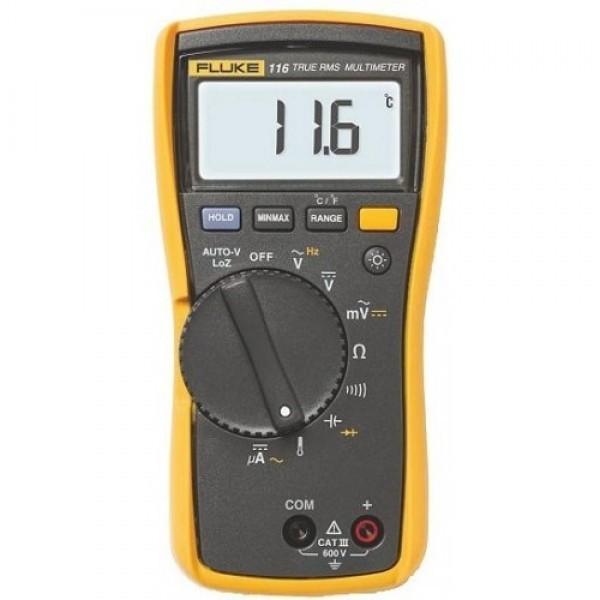 Fluke 116 ดิจิตอลมัลติมิเตอร์ สำหรับช่างเทคนิคงาน HVAC/R