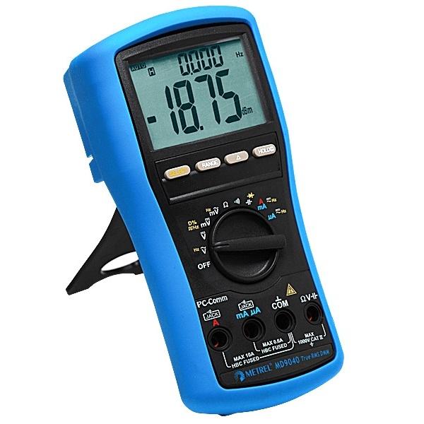 Metrel MD 9040 ดิจิตอลมัลติมิเตอร์สำหรับงานอุตสาหกรรม