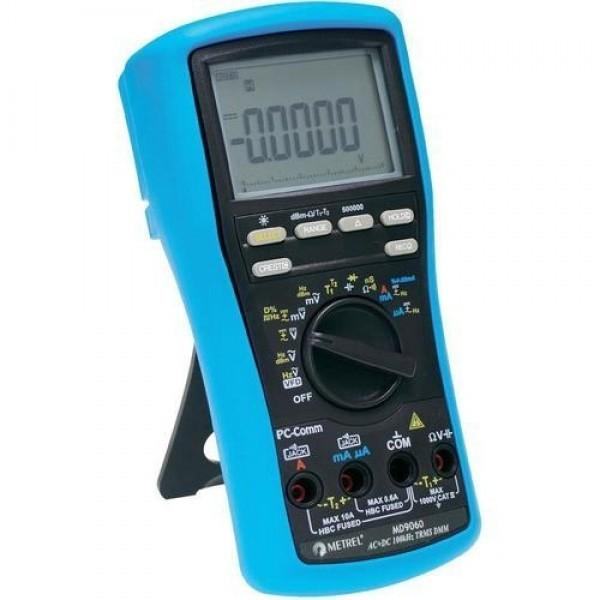 Metrel MD 9050 ดิจิตอลมัลติมิเตอร์แบบสมบุกสมบันในงานอุตสาหกรรม