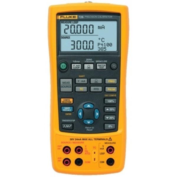 Fluke 726 เครื่องสอบเทียบกระบวนการหลายฟังก์ชัน ความละเอียดสูง