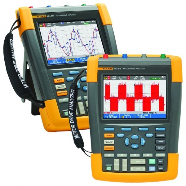 Fluke MDA-510 and MDA-550 Motor Drive Analyzer