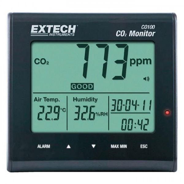 Extech CO100 เครื่องวัดก๊าซคาร์บอนไดออกไซด์ (CO2)