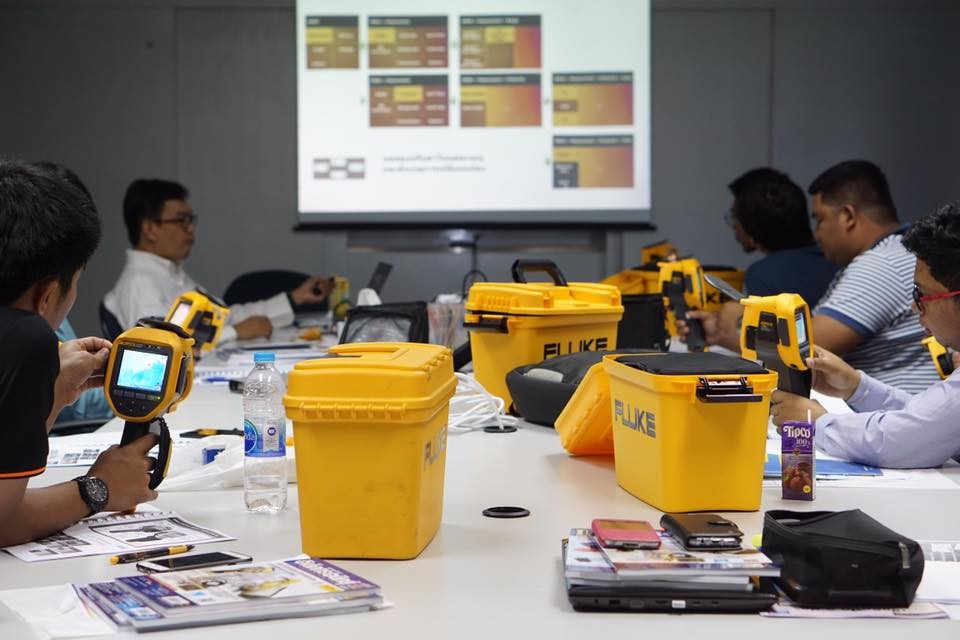 Fluke Thermography Application/Report : 1